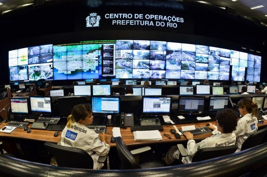 Centro de Operações na capital fluminense, um dos destaques tecnológicos na época dos Jogos Olímpicos de 2016. / Foto: Prefeitura do Rio