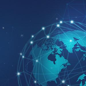 El índice de conectividad global.