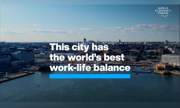 Esta ciudad tiene el mejor equilibrio del mundo entre la vida laboral y personal
