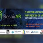 Evento gratuito Plataforma RespirAr para la medición de aire